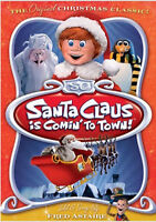 Santa Claus Is Comin' to Town DVD - Rankin-Bass - NEW/sealed
