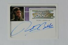 The Complete Star Trek Voyager Autograph A6 Rob Labelle