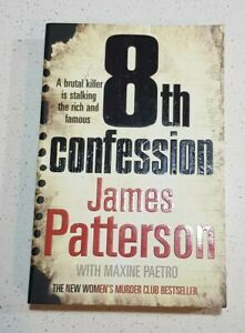 8th Confession By James Patterson Women's Murder Club Series Book #8 Lge PB