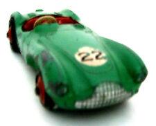Vintage Dinky Aston Martin Green DB 3S Diecast Model No.110 - Good Condition.