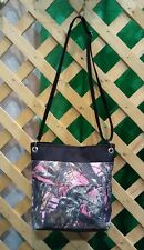 True Timber Pink Camo-Camouflage Crossbody Bag Tote-Made In USA