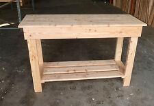 Wooden Work Bench 1.8m- 6ft  great for garage v sturdy! Garage bench Gardenlarch