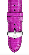 Michele 20mm Orchid Lizard Strap MS20AB030533  0343