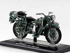 Moto Guzzi Alce Biposto Alpini grau-grün Starline 1:24 Motorrad- Modell 99033