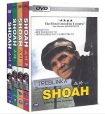 SHOAH (1985) 1-4 Full DVDs (Sealed) ~ Claude Lanzman