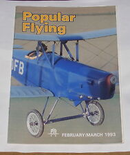POPULAR FLYING MAGAZINE FEBRUARY/MARCH 1993 - AROUND THE SOUTH COAST