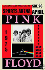 Roger Waters &   Pink Floyd at  Los Angeles Sports Arena Concert Poster 1975