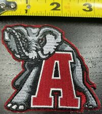 "Alabama Crimson Tide 3"" Iron/Sew On Patch~FREE SHIPPING FROM THE U.S.~"