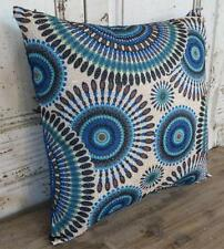 Aztec Blue /Brown/Green/Black Home Decor Cushion Cover Pillow Case 40cm