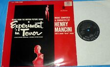 Henry Mancini - Experiment in Terror / RCA Stereo LP Germany