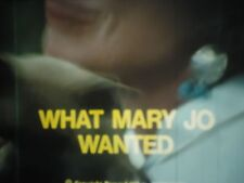 16mm  What Mary Jo Wanted Lpp Color 800'