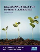 Developing Skills for Business Leadership by Gillian Watson 9781843983163