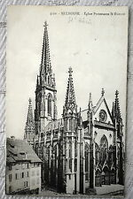 """CPA """" MULHOUSE - Eglise Protestante St Etienne"""