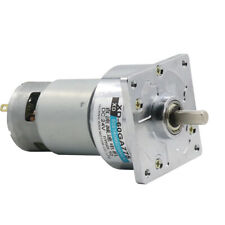 60GA775 12V/24V 35W DC Gear Motor Large Torque Adjustable Speed with Gearbox