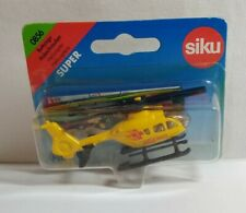 SIKU DIECAST HELICOPTER AMBULANCE - #0856 - SEALED BLISTER PACK - LENGTH 7.5CM