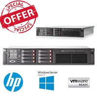 HP ProLiant DL380 G7 2 x 4 core E5620 2.40 GHz CPU 128GB RAM 2x 146GB HDD P410i