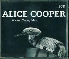 Alice Cooper - Wicked Young Man Fat Box 2X Cd Perfetto
