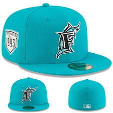 New Era Florida Marlins Fitted Hat MLB Cooperstown Classic 1993 Inaugural Season