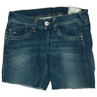Pepe Jeans Olympia Sommer kurze Hose Short Bermuda Capri W32 used Blau NEU