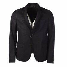 GUCCI Jacket Dark Grey Wool Blend 2 Button Size 52 R RRP £1485 PA 763