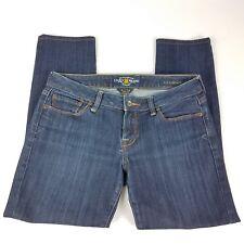 """Lucky Brand Jeans Lola Skinny Dark Wash Stretch Size 6 / 28 Inseam 25.5"""""""