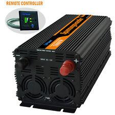 Convertisseur 3000W 6000W DC 12V à AC 230V Onduleur Power Inverter Softstart