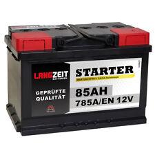 Autobatterie 12V 85Ah 785A/EN ersetzt 70AH 71AH 72AH 74AH 75AH 77AH 80AH