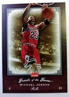 2005-06 Fleer Greats of the Game Michael Jordan #61, Chicago Bulls, HOF