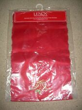 "Lenox HOLIDAY NOUVEAU Cutwork Embroidered Table Runner 14""  x 90"" NEW FREE SHIP"