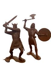 Barbarians Toys Miniatures Figures War Decoration Game Doll 150 mm Set 2 PCS NEW