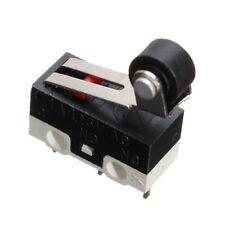 Pcs Mini Sub Wheel Microswitch Black Switch PCB Solder Terminals SPDT Lever