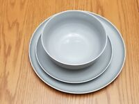 Hotel Collection Modern Set of 3 pieces, Soup/Cereal Bowl ,salad & dinner plate