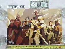 Voltron Legendary Defender 17 x 11 Rare Poster 2017 Nycc Netflix Zarkon