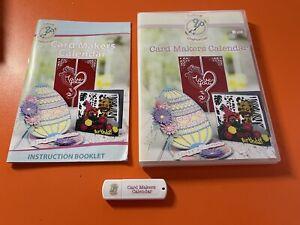 Cutting Craftorium Card Makers Calendar USB Key - FAST P+P
