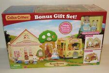 Calico Critters Forest Nursery Bonus Gift Set Hamster Teacher & Rabbit Baby MIB