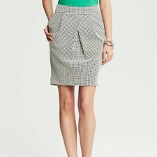 Skirts Banana Republic Mini Skirt Size 4 Womans Lined Wool Nylon Stretch Pre-owned Clothing, Shoes & Accessories