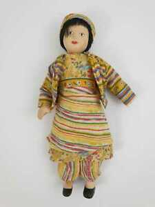 Vintage Collectable Porcelain Doll in a national costume