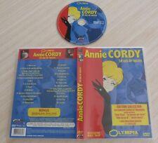 DVD PAL MUSIQUE ANNIE CORDY 50 ANS DE SUCCES + BONUS INTERVIEW INEDITE