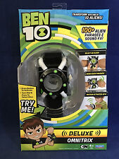 New 2017 Ben 10 - OMNITRIX DELUXE - 100+ Alien Phrases - WRISTBAND Playmates Toy