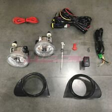For Toyota Echo 03-05 Factory Replacement Fit Fog Lights Wiring Kit Clear Lens