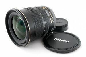 Nikon AF-S NIKKOR 12-24mm F/4 G ED DX Zoom Lens Excellent From Japan Tested