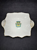 Vintage Shelley England Fine Bone China small candy plate tray saucer homedecor