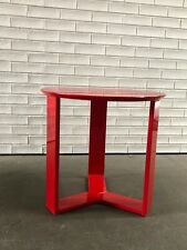 IKEA Red Side Table