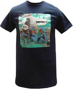Pavement Wowee Zowee! Album Experimental Alternative Music Band T Shirt PVT45