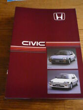 HONDA CIVIC DELUXE AND GT BROCHURE 1985