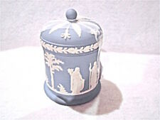 Vintage Wedgwood Blue Jasperware Trinket Box