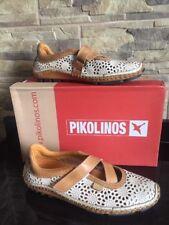 PIKOLINOS Spanish Design Sneakers Mocassini Scarpe Ballerine Vera Pelle Donna 36