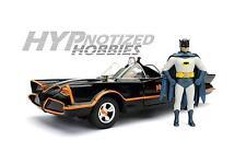 JADA 1:24 BATMAN CLASSIC TV SERIES 1966 BATMOBILE & BATMAN ROBIN IN CAR 98259
