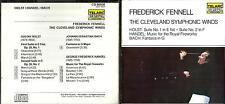 Frederick Fennell & Cleveland  Winds cd album- Holst,Handel.Bach