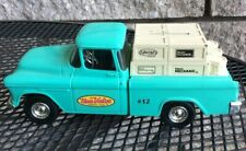 ERTLE ADVERTISING TRUE VALUE DIE-CAST 1955 CHEVY PICK UP TRUCK BANK W/ KEY